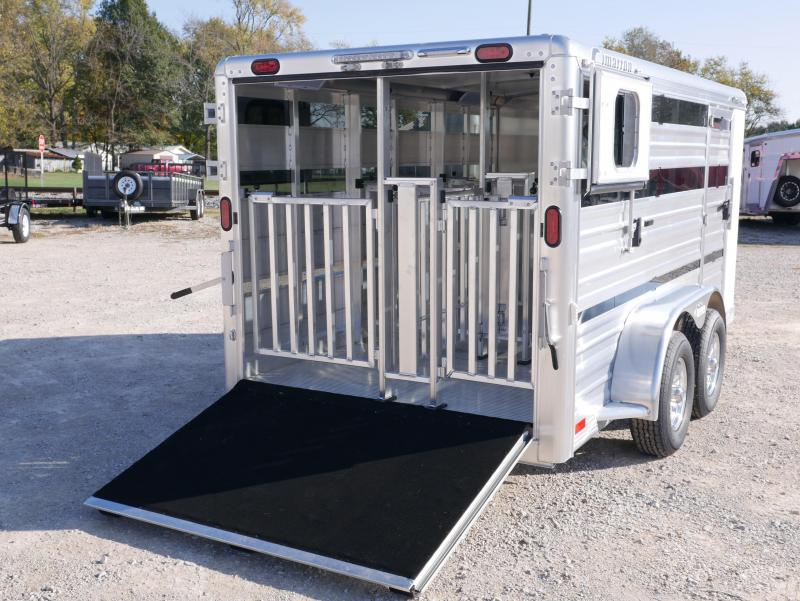 2020 Cimarron Trailers Showstar Bumper Livestock Trailer