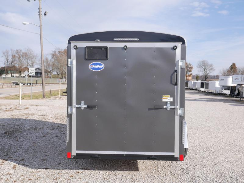 2020 United Trailers ULH 6X12SA30-S Enclosed Cargo Trailer