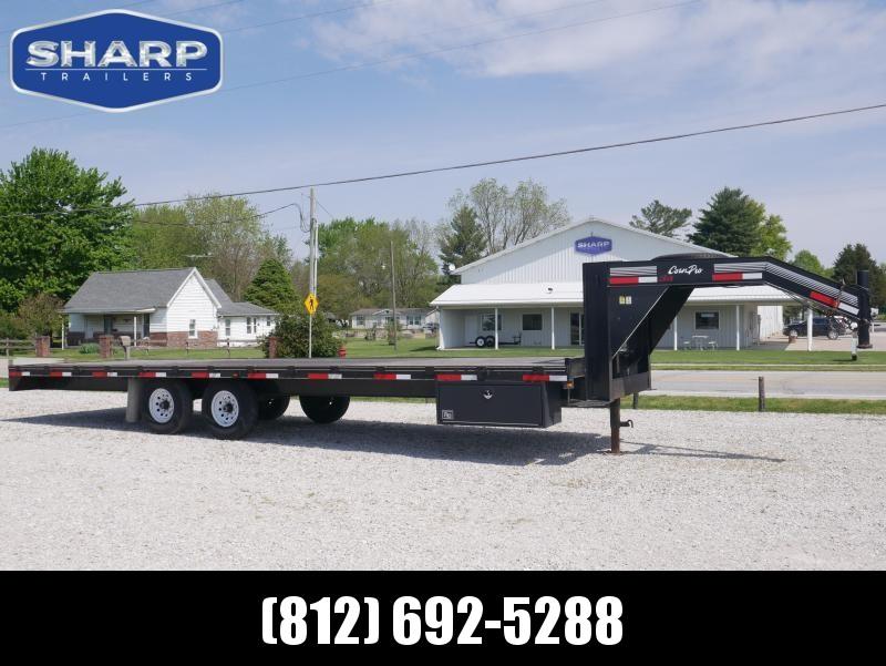 2010 CornPro 28' Deck-Over Straight Equipment Trailer