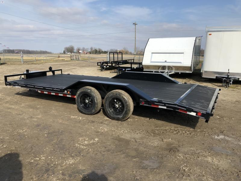 Load Trail 102x20 Carhauler W/ Blackwood