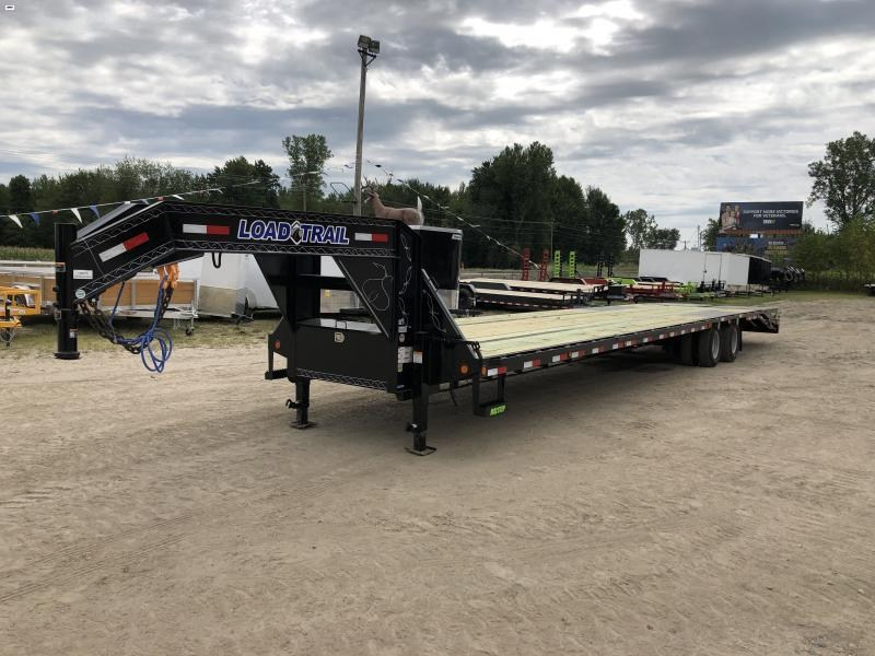 Load Trail 40 Low Profile Deckover 22K Gooseneck Equipment Flatbed Trailer