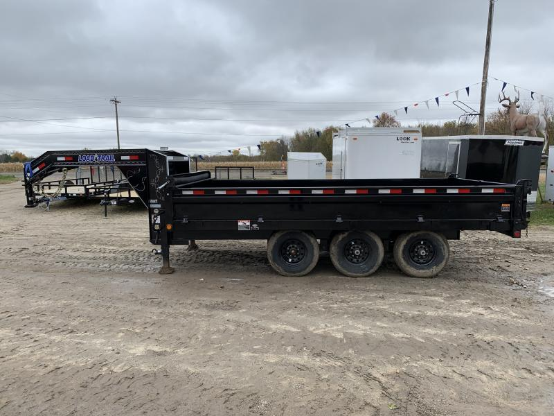 Load Trail 96x16 21K Goose Neck Dump Trailer