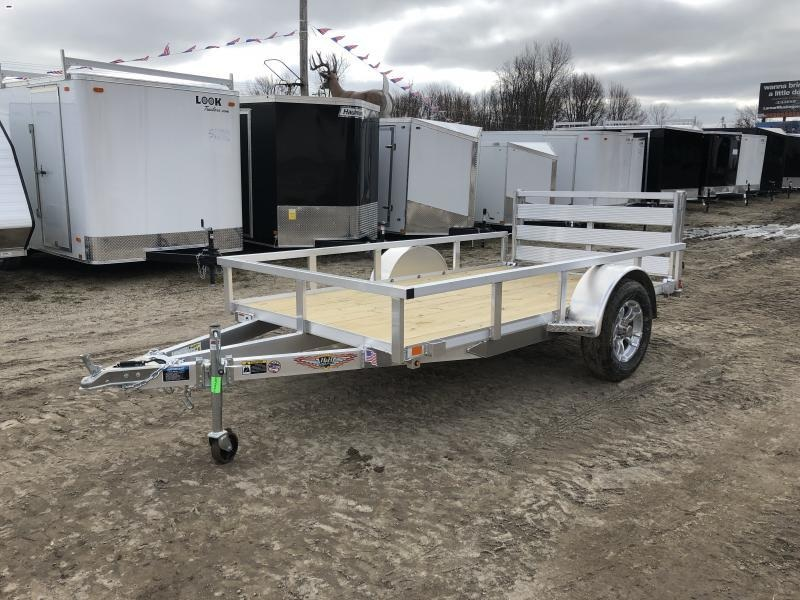 H and H 66x10 Aluminum Utility Trailer