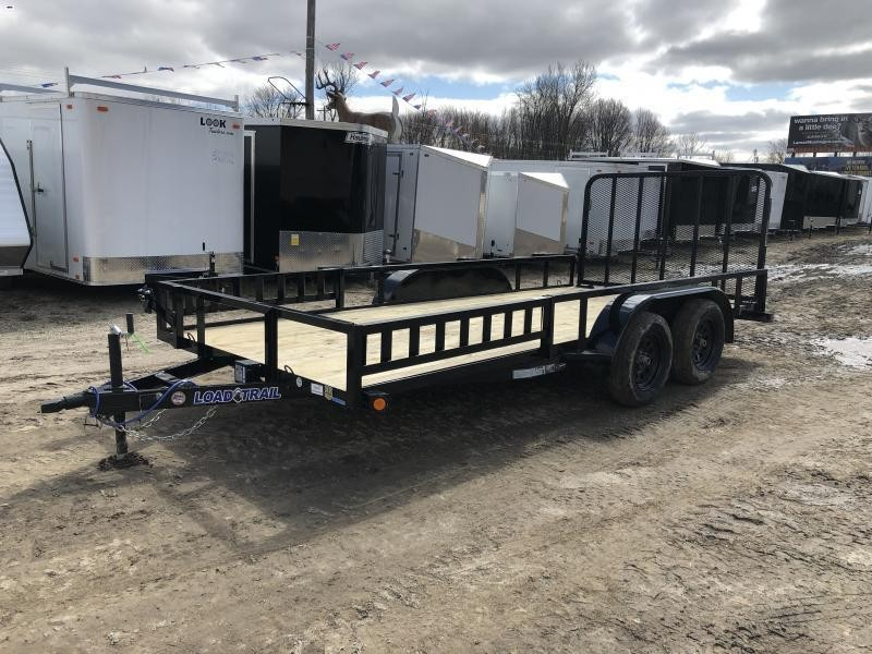 Load Trail 83 x 16ft ATV Tandem Axle Utility Trailer