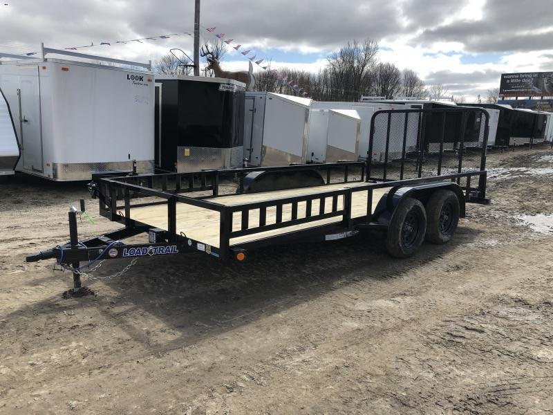 Load Trail 83 x 16ft ATV Tandem Axle Utility Trailer