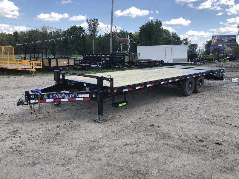 Load Trail 102x24 14k Equipment Trailer Max Ramps