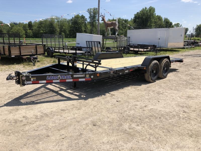 Load Trail 83x18ft 14K Split Deck Tilt Trailer