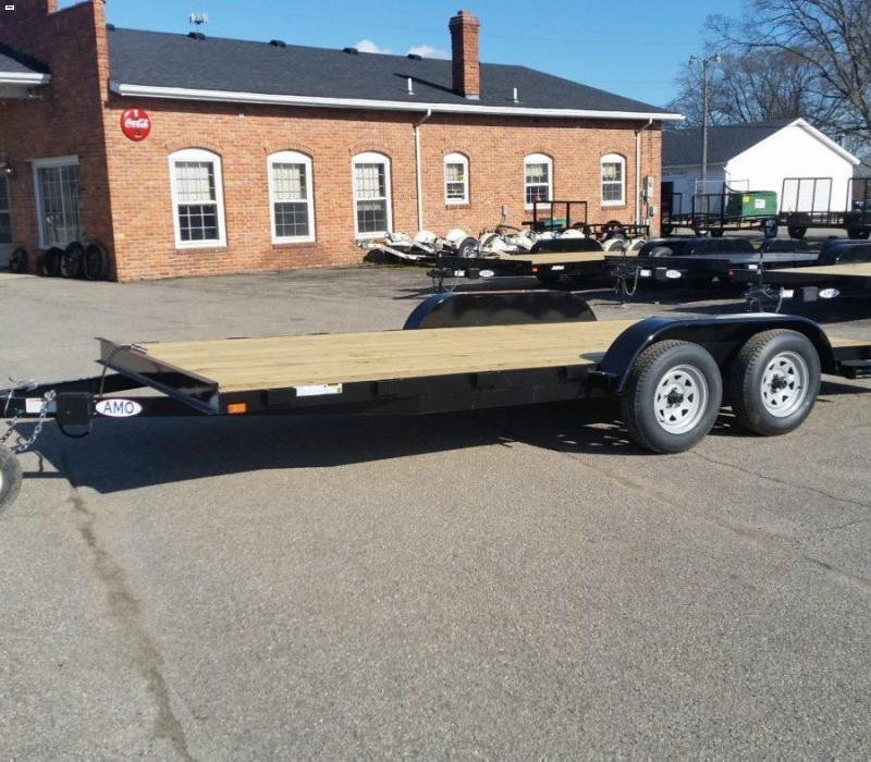 18' A.M.O. Car Hauler Trailer TA1