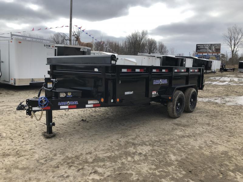 Load Trail 83x16 14K Dump Trailer