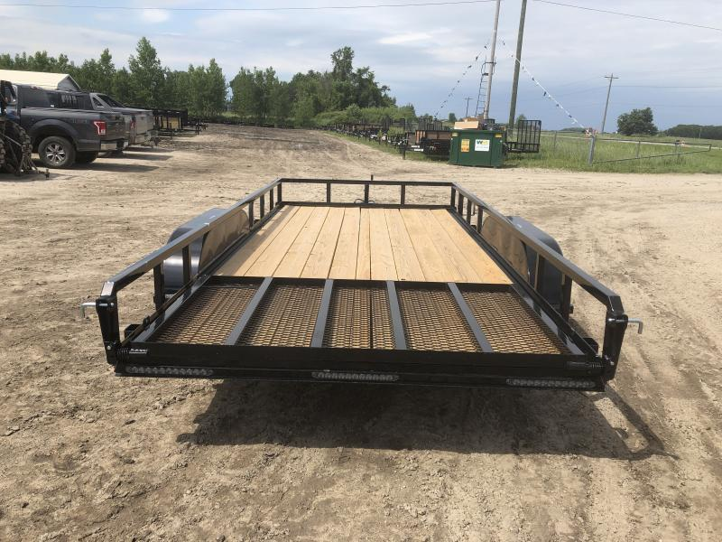 H and H Trailer 82x16 Utility Trailer