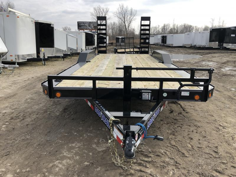 Load Trail 102x20 14K Equipment Trailer W/ Drive Over Fenders