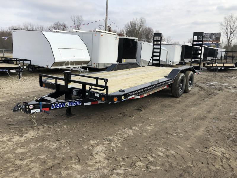 Load Trail 102x20 14K Equipment Trailer W/ Drive Over Fenders
