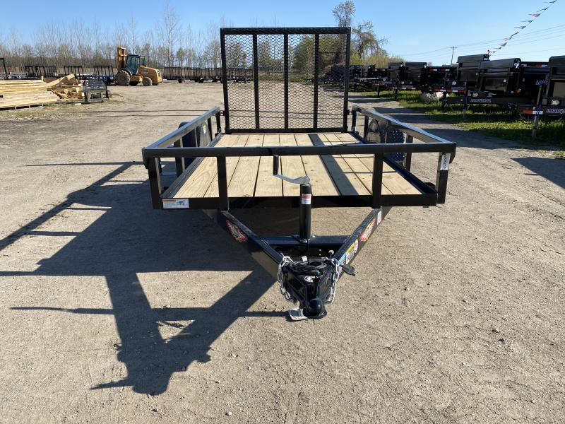 H and H 5.5x10 Landscape Utility Trailer