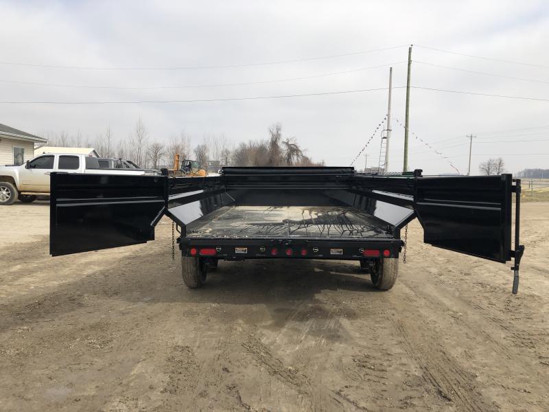 Load Trail 83x14 Max Bed Dump Trailer