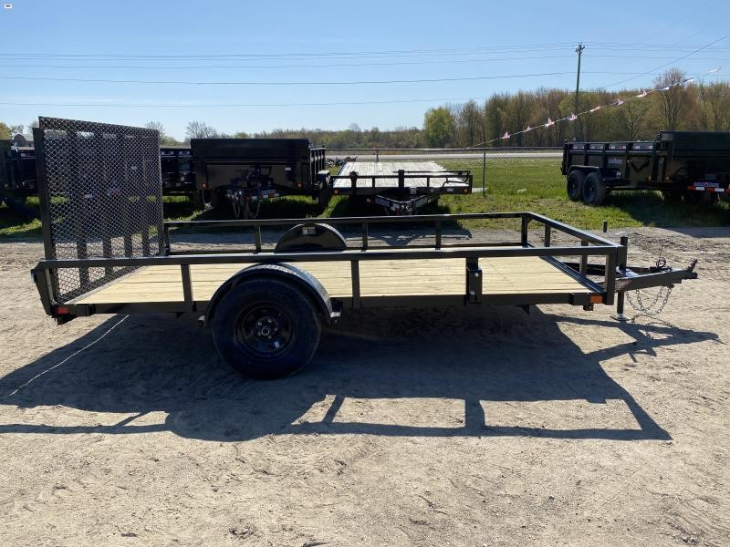 H and H 82x12 Landscape Utility Trailer