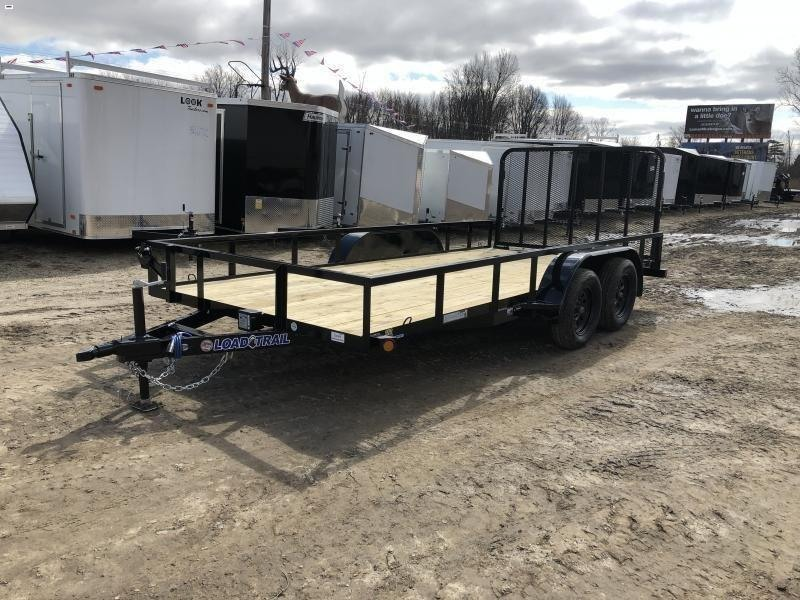 Load Trail 83 x 16ft Tandem Axle Utility Trailer
