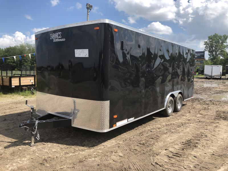 Look Trailers 8.5X20 7K Car / Racing Trailer Black