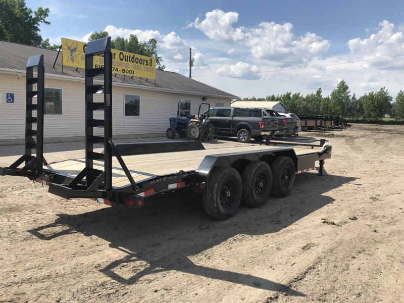 Load Trail 83x22 21K Equipment Trailer