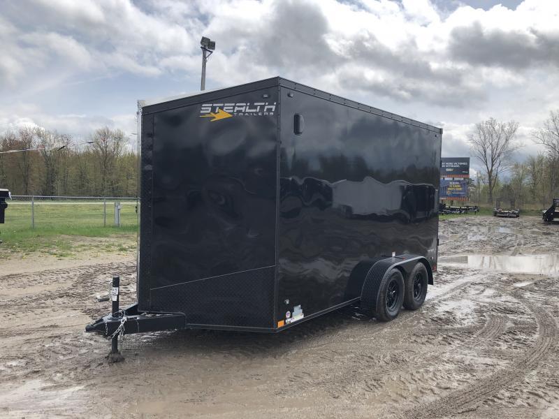 Stealth Trailers 7x14 Titan HD UTV +12 B/O Pkg Enclosed Cargo Trailer