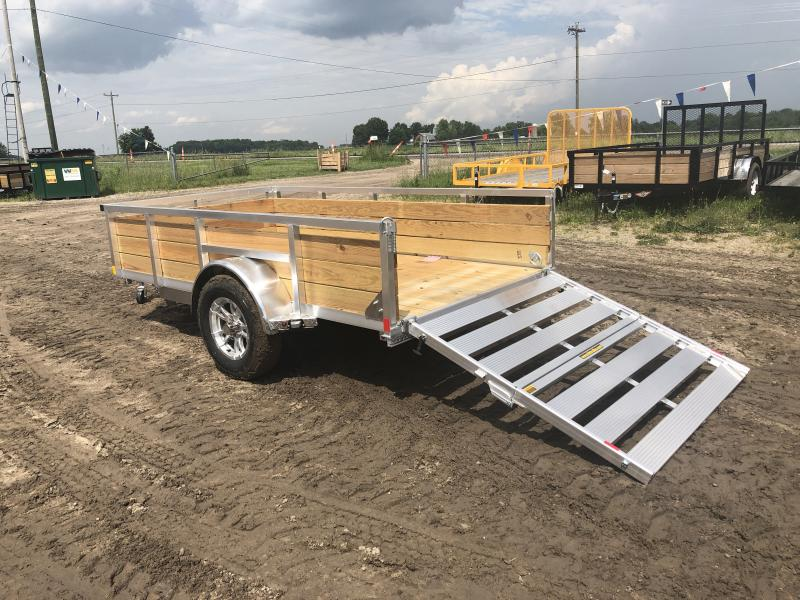 H and H Trailer 5.5 X 10 Aluminum Woodside