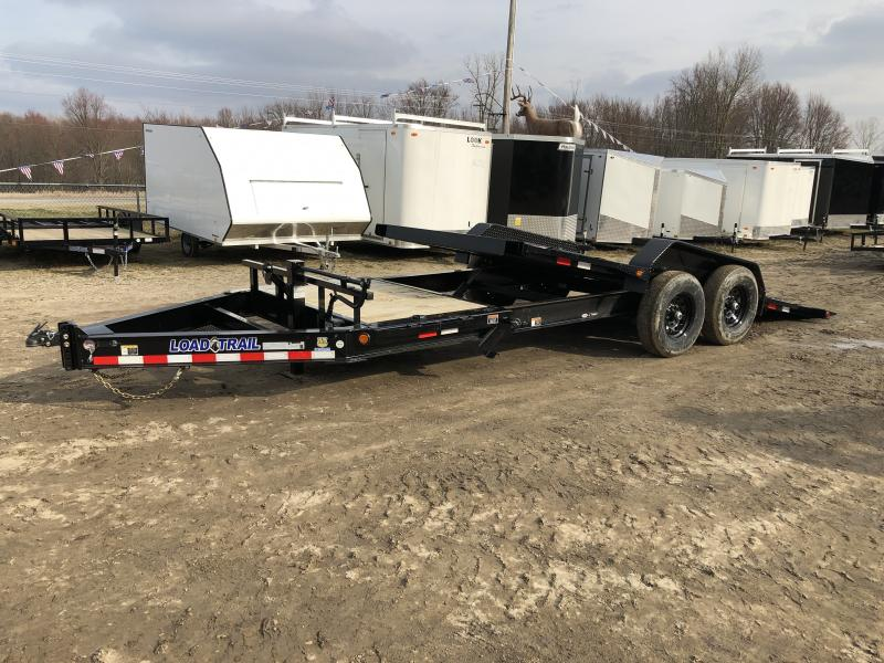 Load Trail 83x20ft 14K Split Deck Tilt Trailer