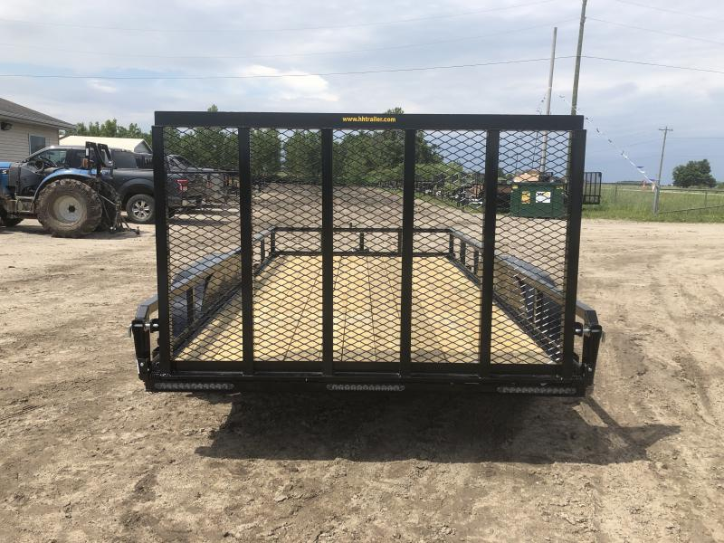 H and H Trailer 82x14 Utility Trailer