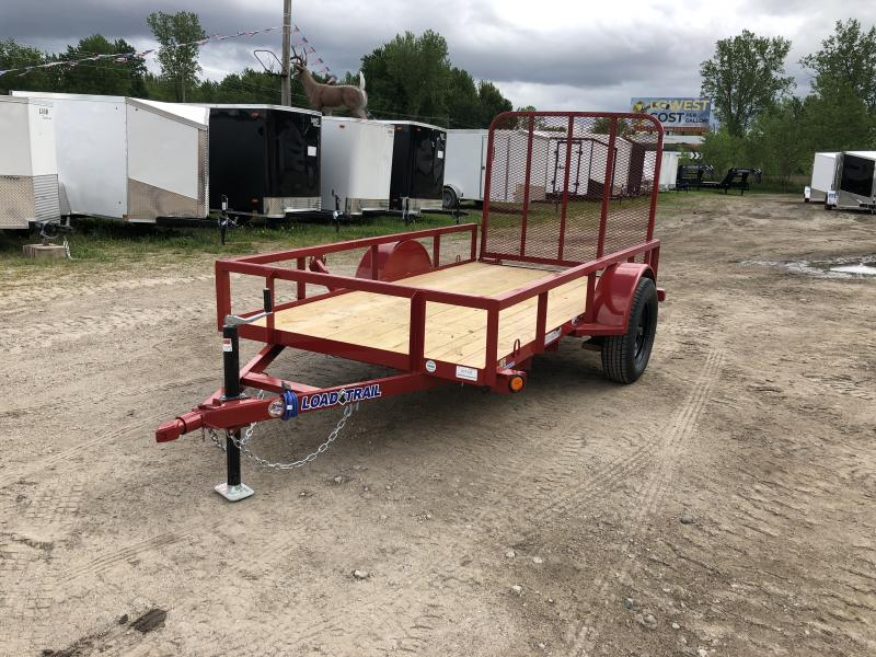 Load Trail 5x10 Utility Trailer Red