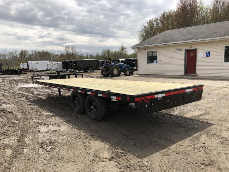 Load Trail DK10 20ft Deck Over 14K Equipment Trailer
