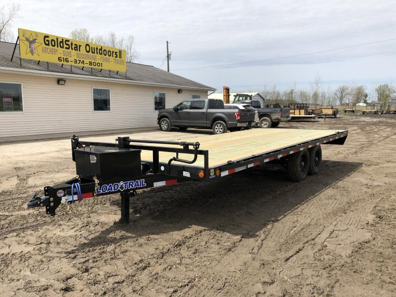 Load Trail DK10 20ft Deck Over 14K Equipment Trailer