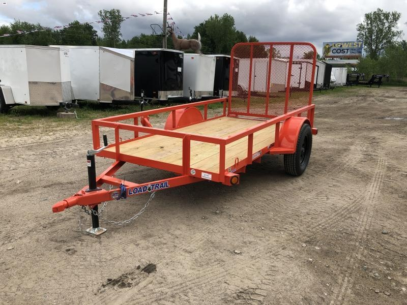 Load Trail 5x10 Utility Trailer Orange