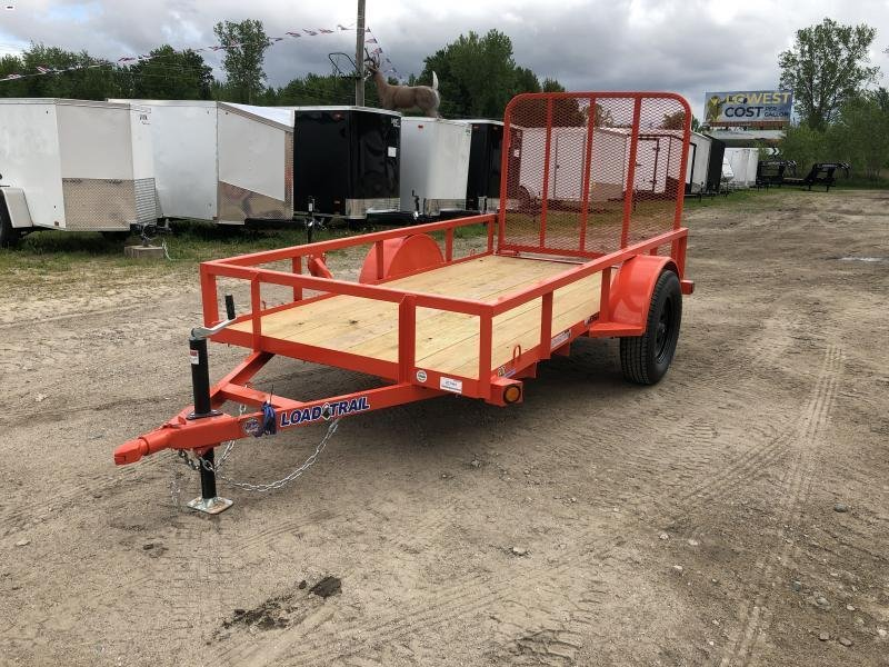 Load Trail 5x10 Utility Trailer Orange