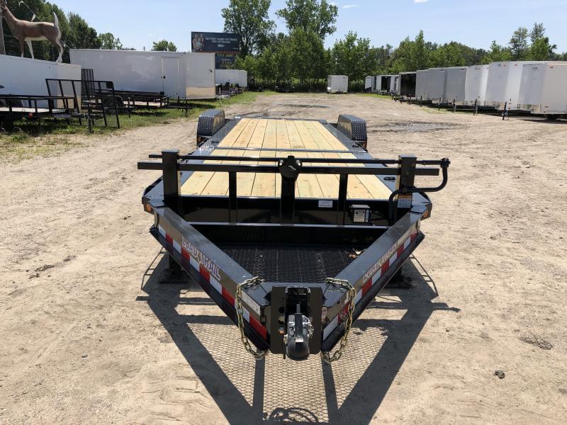 Load Trail 83x24ft 14K Split Deck Tilt Trailer