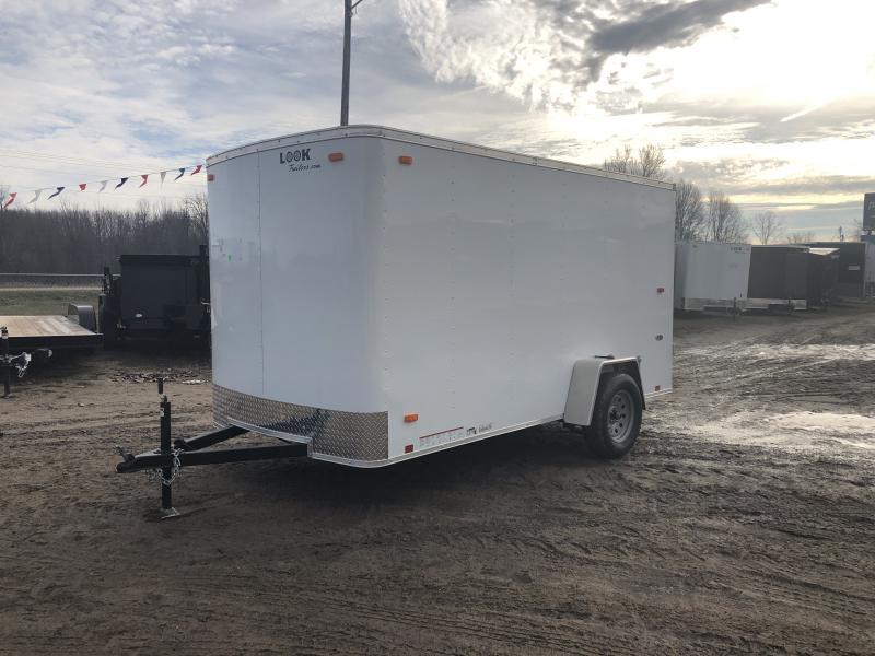 Look Trailers 6x12 Barn Door Enclosed Cargo Trailer