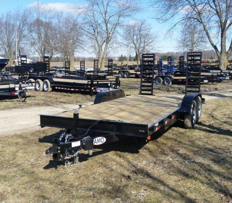 82 x 18 A.M.O. Equipment Trailer TA3