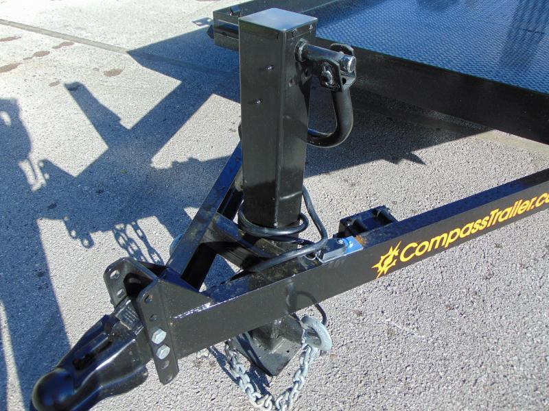 New Compass 7X20 Forklift Equipment Trailer