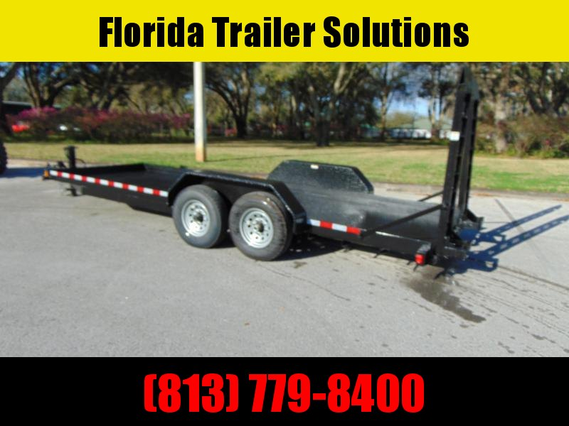 New Compass 7X20 Forklift Equipment Trailer