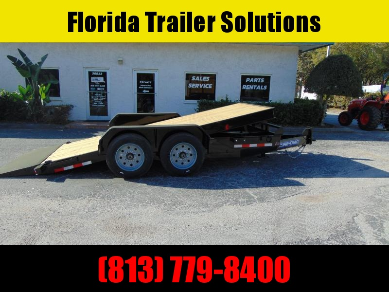 2020 Sure-Trac 7X16 16k Tilt Bed Equipment Trailer