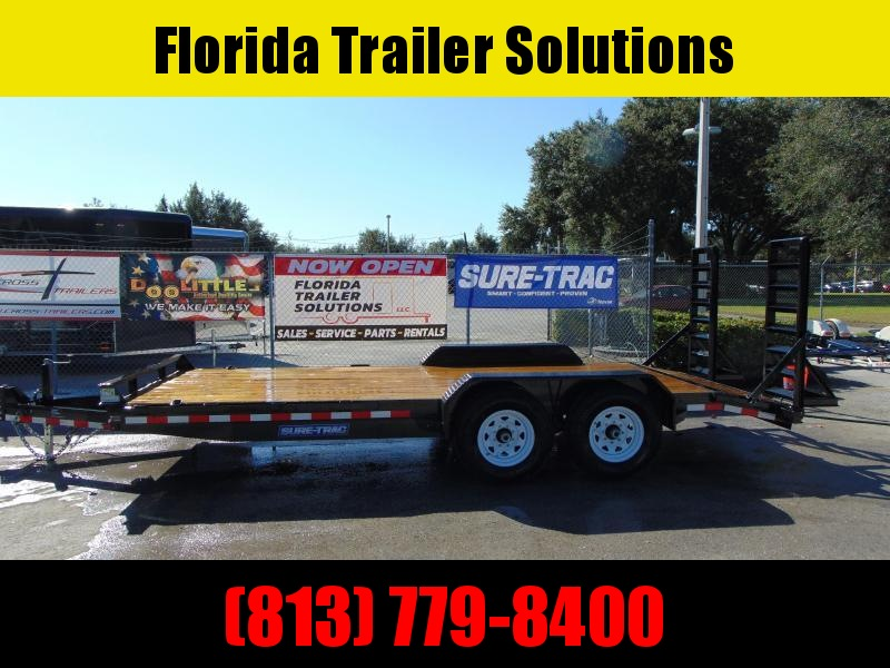 CLEARANCE! 2019 Sure-Trac 7X18 Equipment Trailer