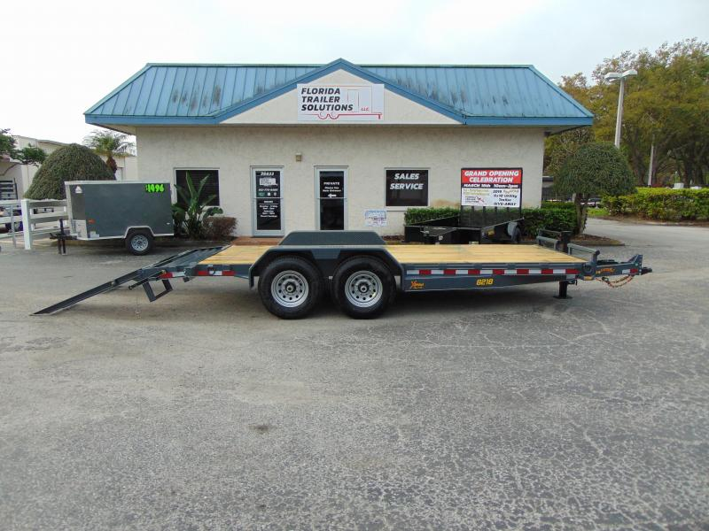 2019 Doolittle Trailer Mfg 82X18 14k 16+2 Xtreme Equipment Trailer