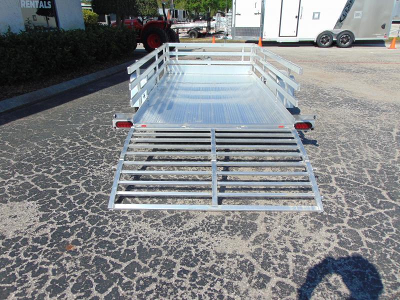 New Bear Track 65x120 All Aluminum Utility Trailer w/Side Kit