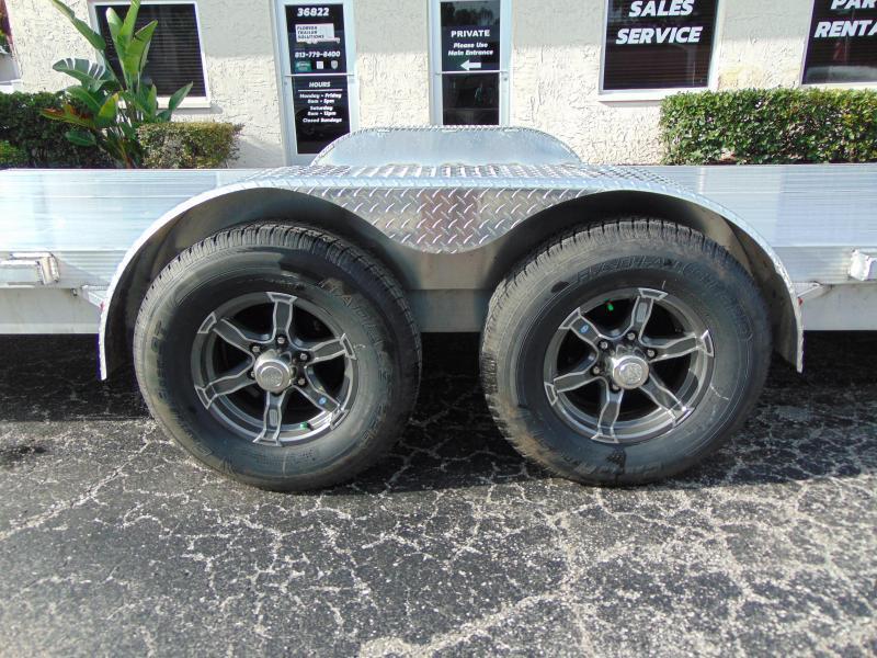2019 Legend Mfg 7X24OCH Aluminum Car Hauler