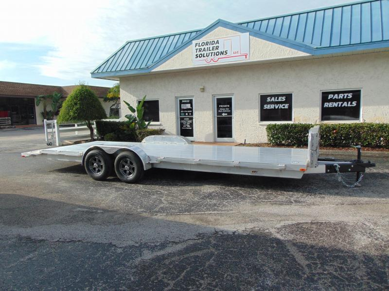 2019 Legend Mfg 7X24OCH Aluminum Car Hauler