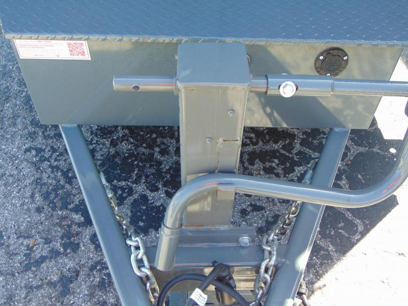 New Sure-Trac 82X14 Scissor Dump14k Trailer w/ 4' Sides