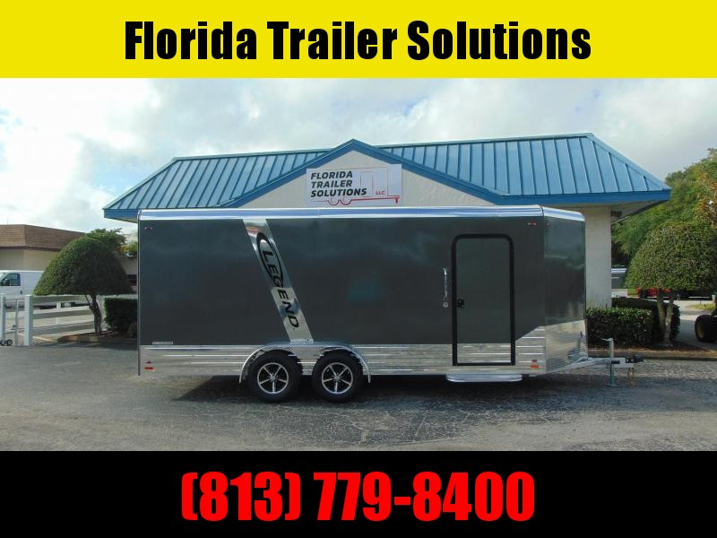 CLEARANCE!  2019 Legend Manufacturing 7X21 Aluminum Enclosed Cargo Trailer