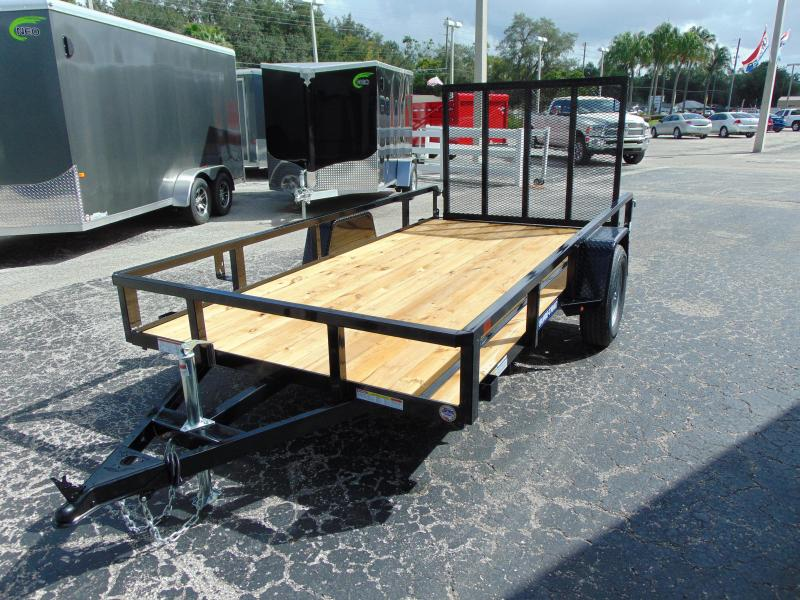 New Sure-Trac 6X12 Tube Top 3k Utility Trailer