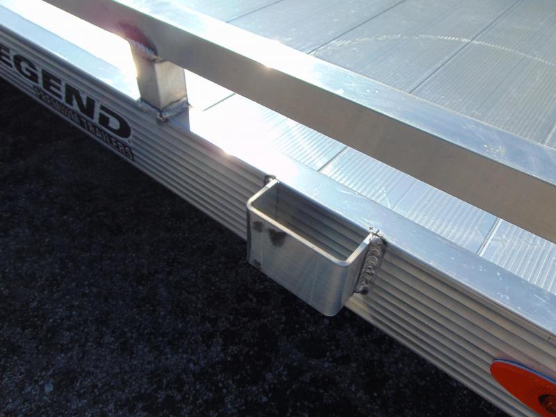 New Legend Mfg 7X12 All Aluminum Utility Trailer w/Gate