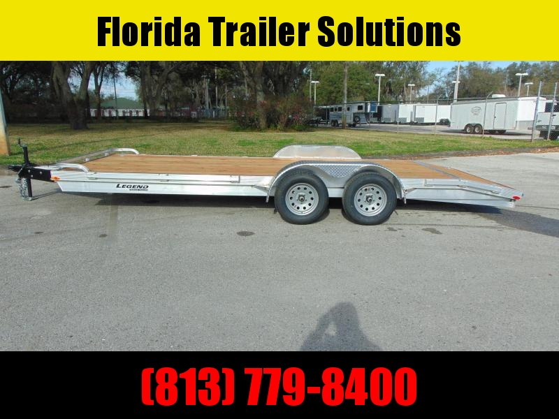 New Legend Mfg 7X20 OCH 7k Aluminum Car Hauler