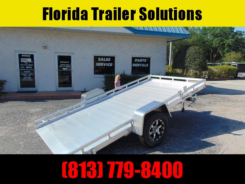 New Bear Track 79x152 All Aluminum Tilt Utility Trailer