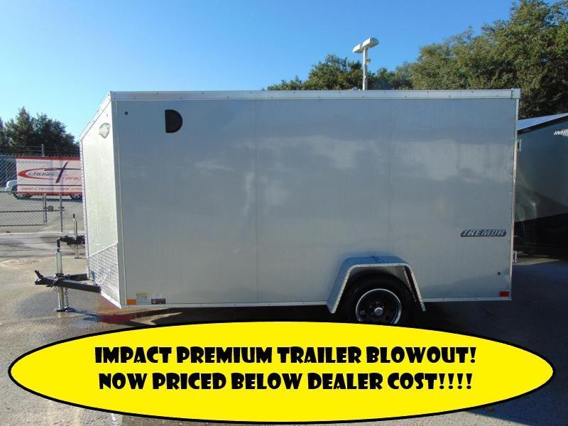 2019 Impact Trailers 6X12 Enclosed Cargo Trailer