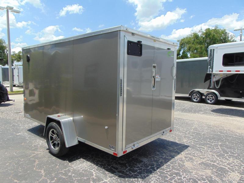 2019 NEO Trailers 6X12 Aluminum Enclosed Cargo Trailer